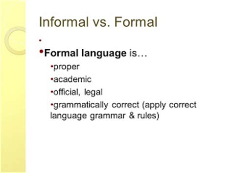 What Is Informal and Formal Essay Writing? Referencecom